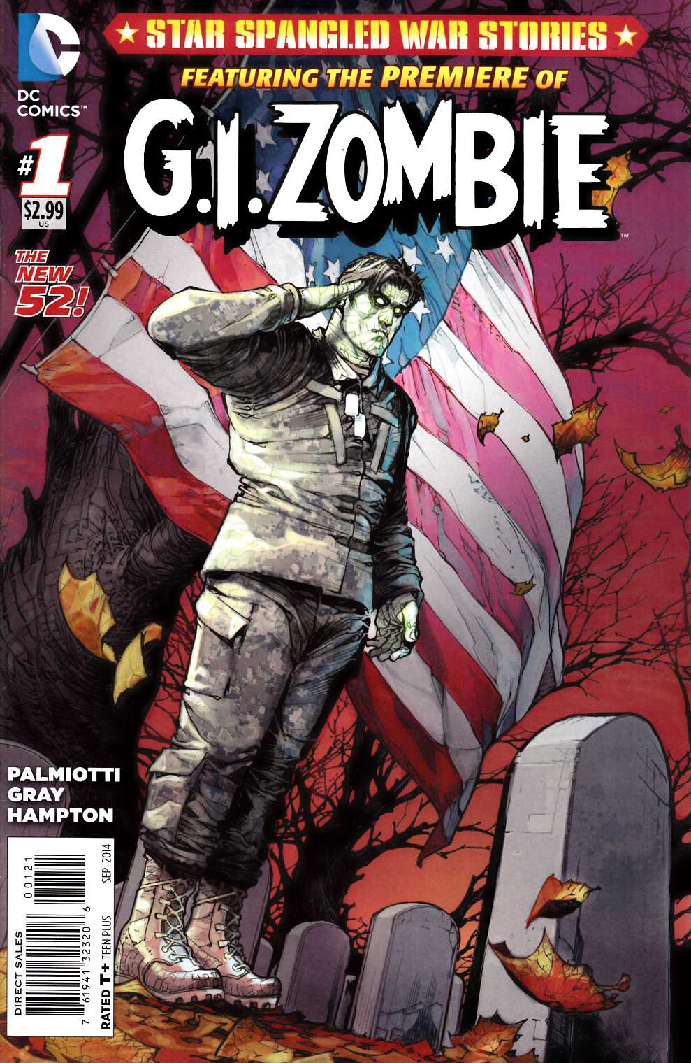 Star Spangled War Stories GI Zombie #1 Variant Cover [Comic]_THUMBNAIL