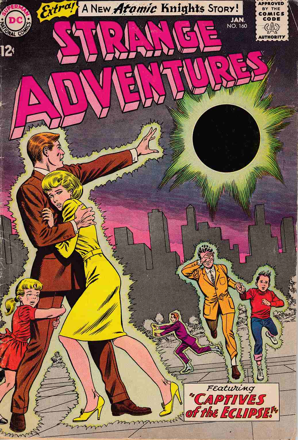 Strange Adventures #160 Very Good (4.0)  [DC Comic] THUMBNAIL