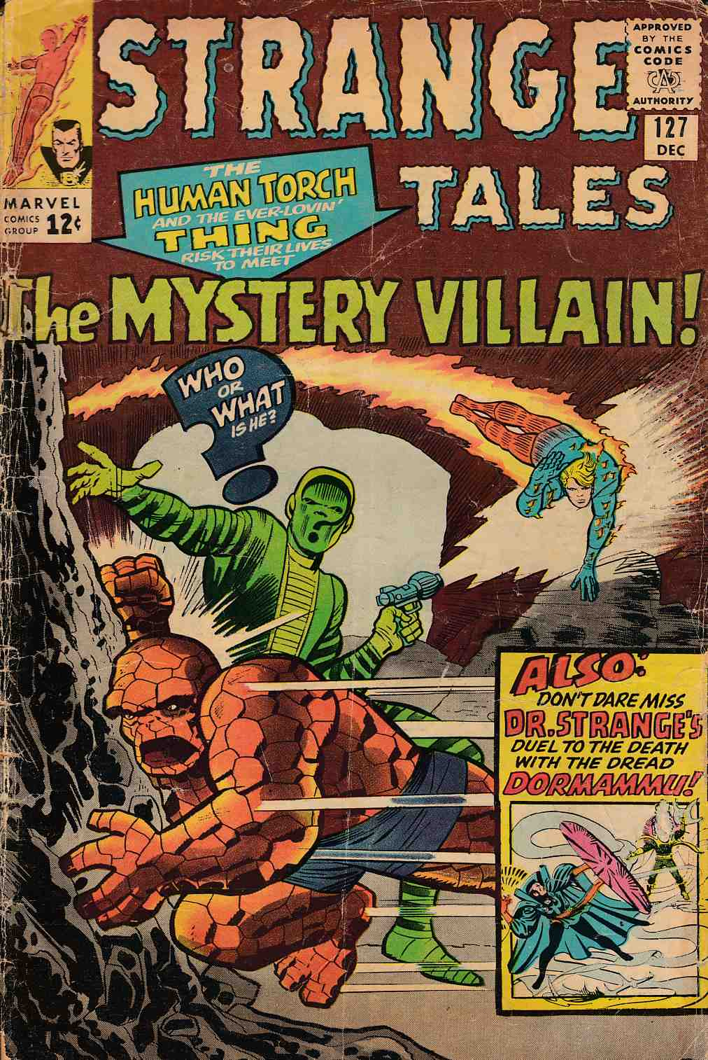 Strange Tales #127 Good Minus (1.8) [Marvel Comic] THUMBNAIL