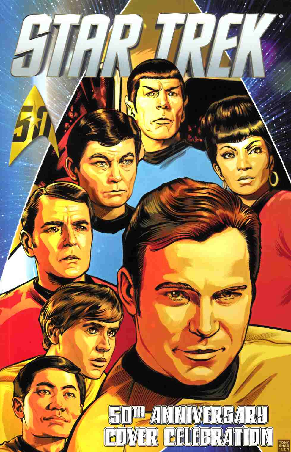 Star Trek 50th Anniversary Cover Celebration [IDW Comic] THUMBNAIL