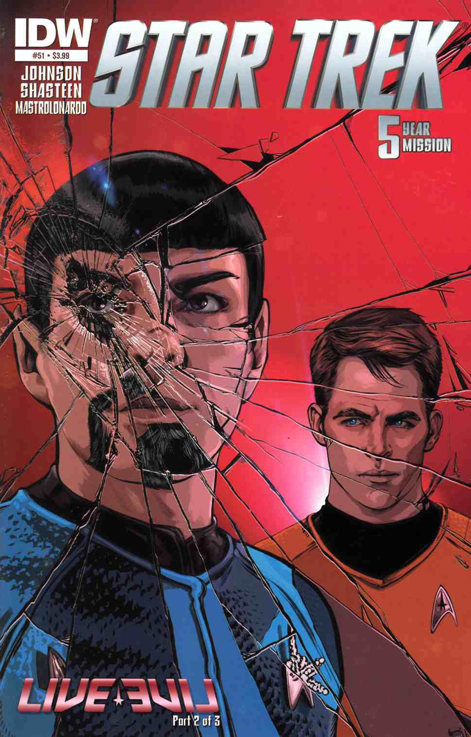 Star Trek Ongoing #51 [IDW Comic]