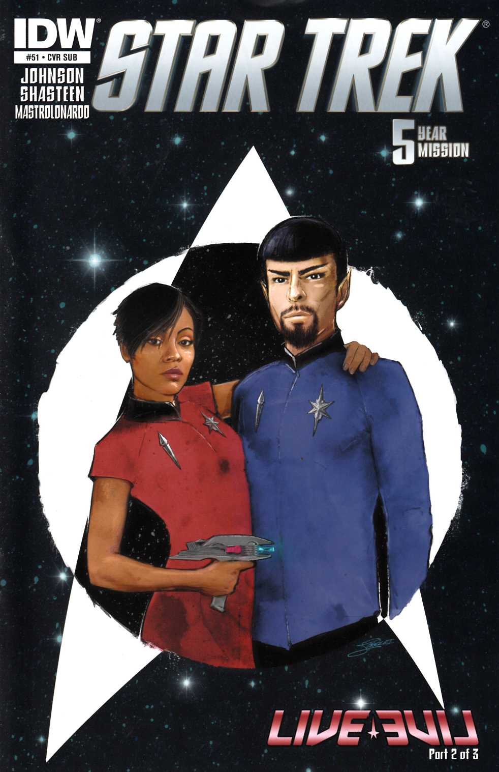 Star Trek Ongoing #51 Subscription Cover [IDW Comic]_LARGE