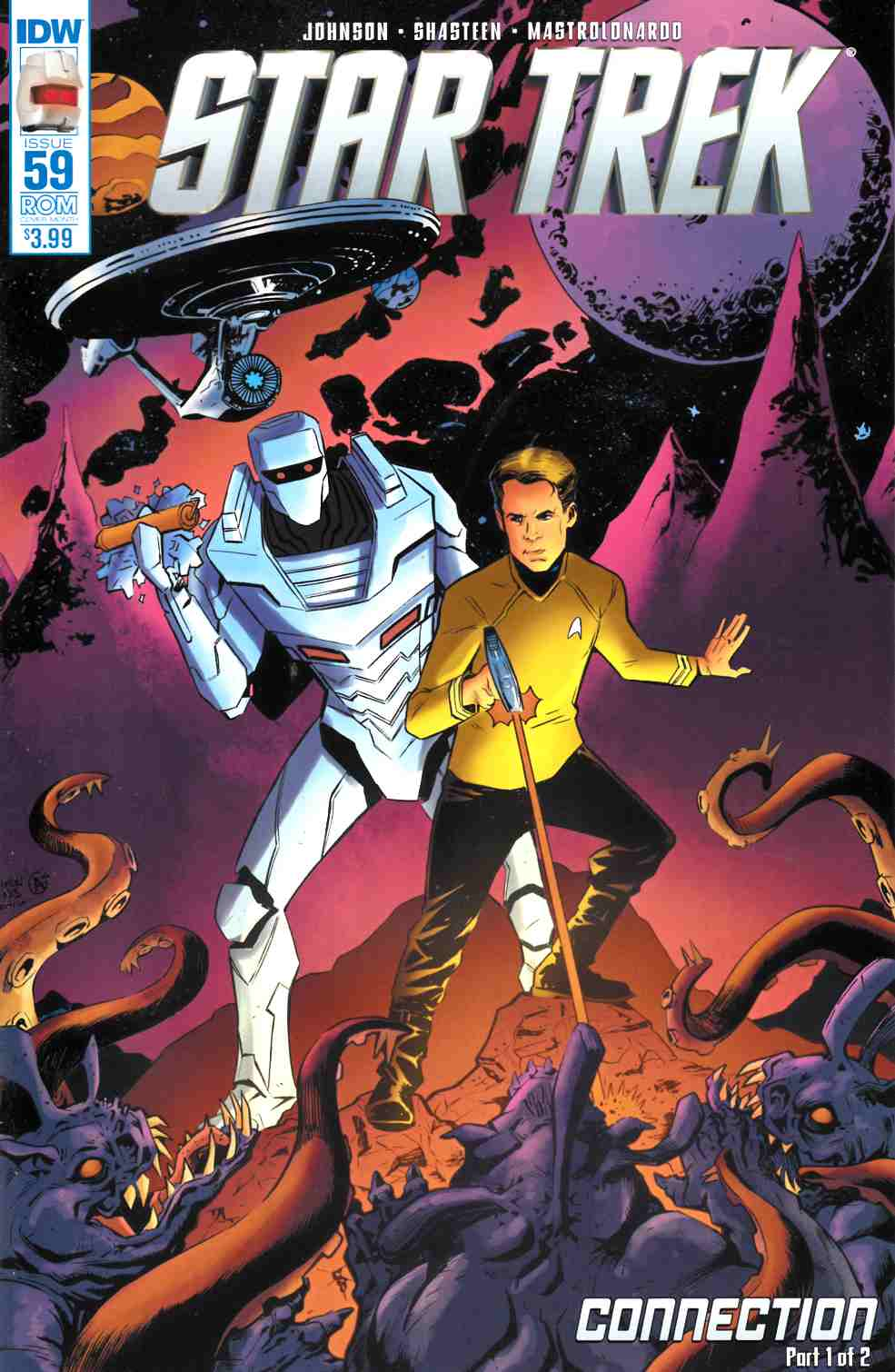 Star Trek Ongoing #59 Rom Variant Cover [IDW Comic] THUMBNAIL