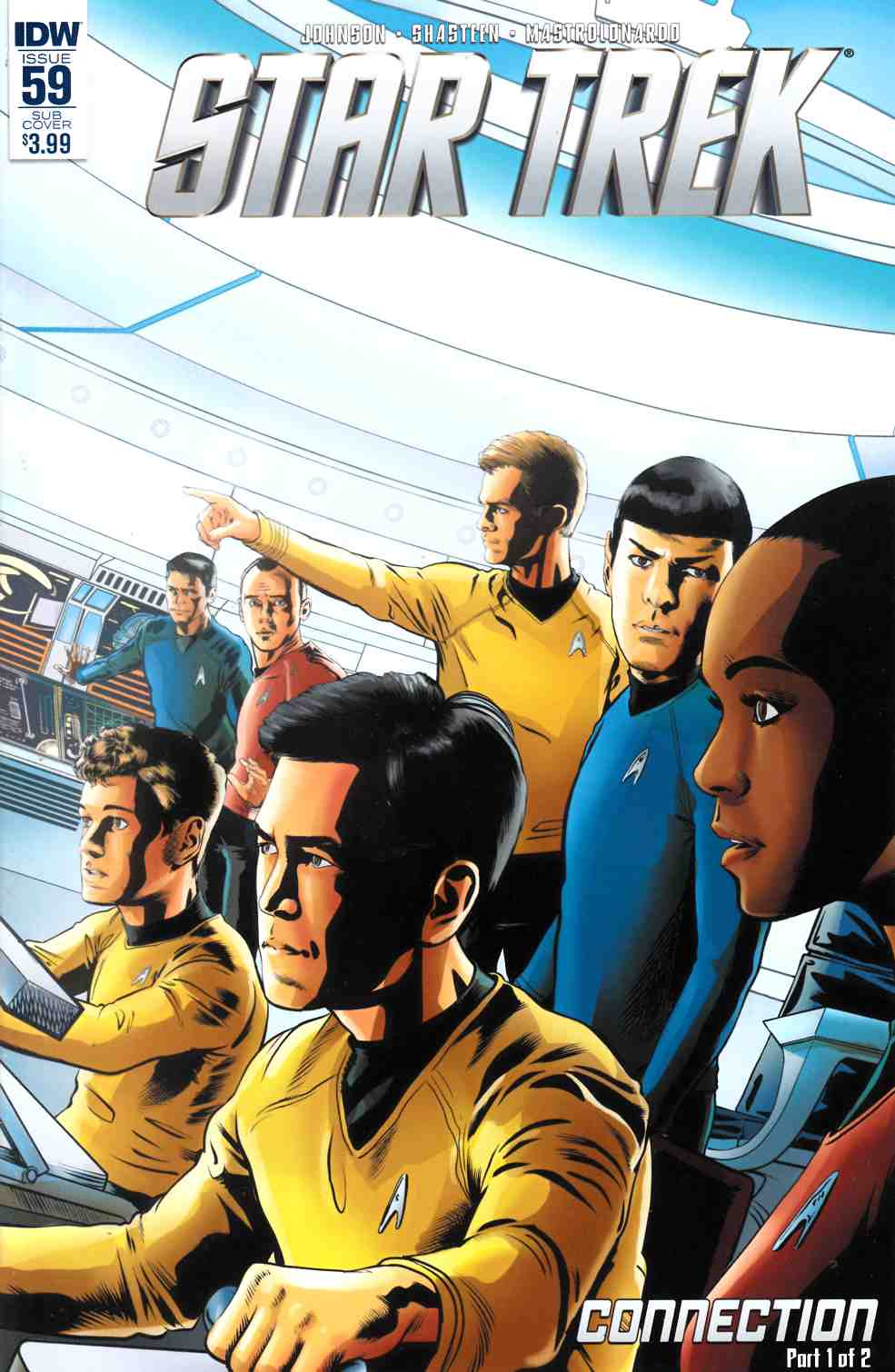 Star Trek Ongoing #59 Subscription Cover [IDW Comic] THUMBNAIL