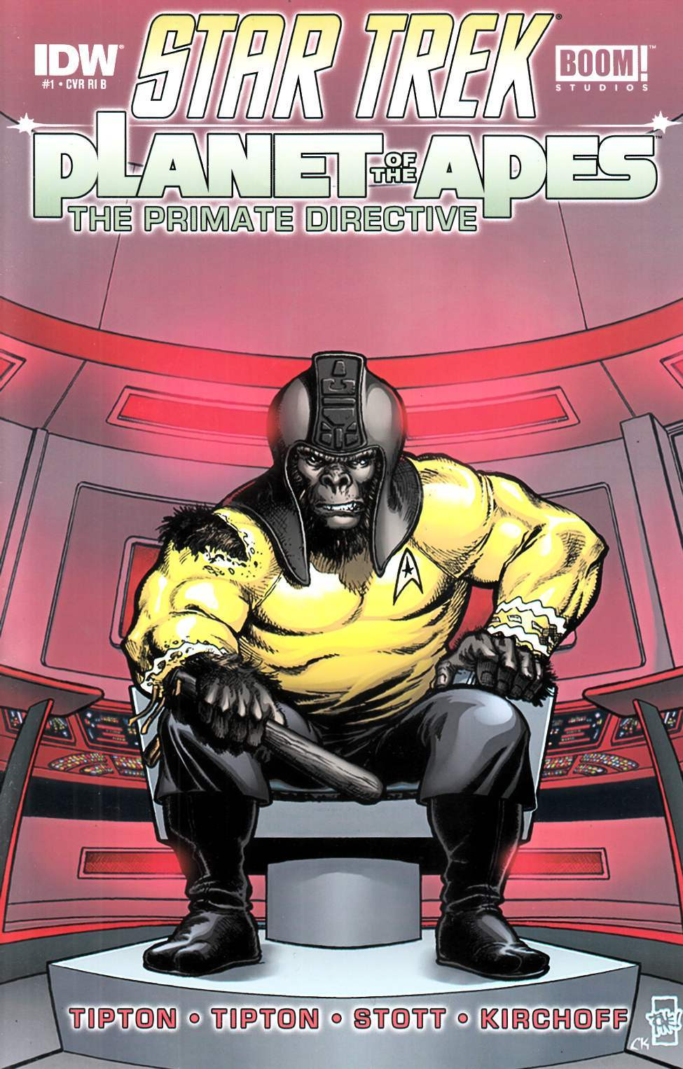 Star Trek Planet of the Apes #1 Cover RIB- Perez [IDW Comic]