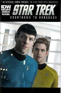Star Trek Countdown to Darkness #3 Cover B- Photo [Comic] LARGE