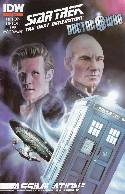 Star Trek TNG Doctor Who Assimilation #1 Second (2nd) Printing [Comic] THUMBNAIL