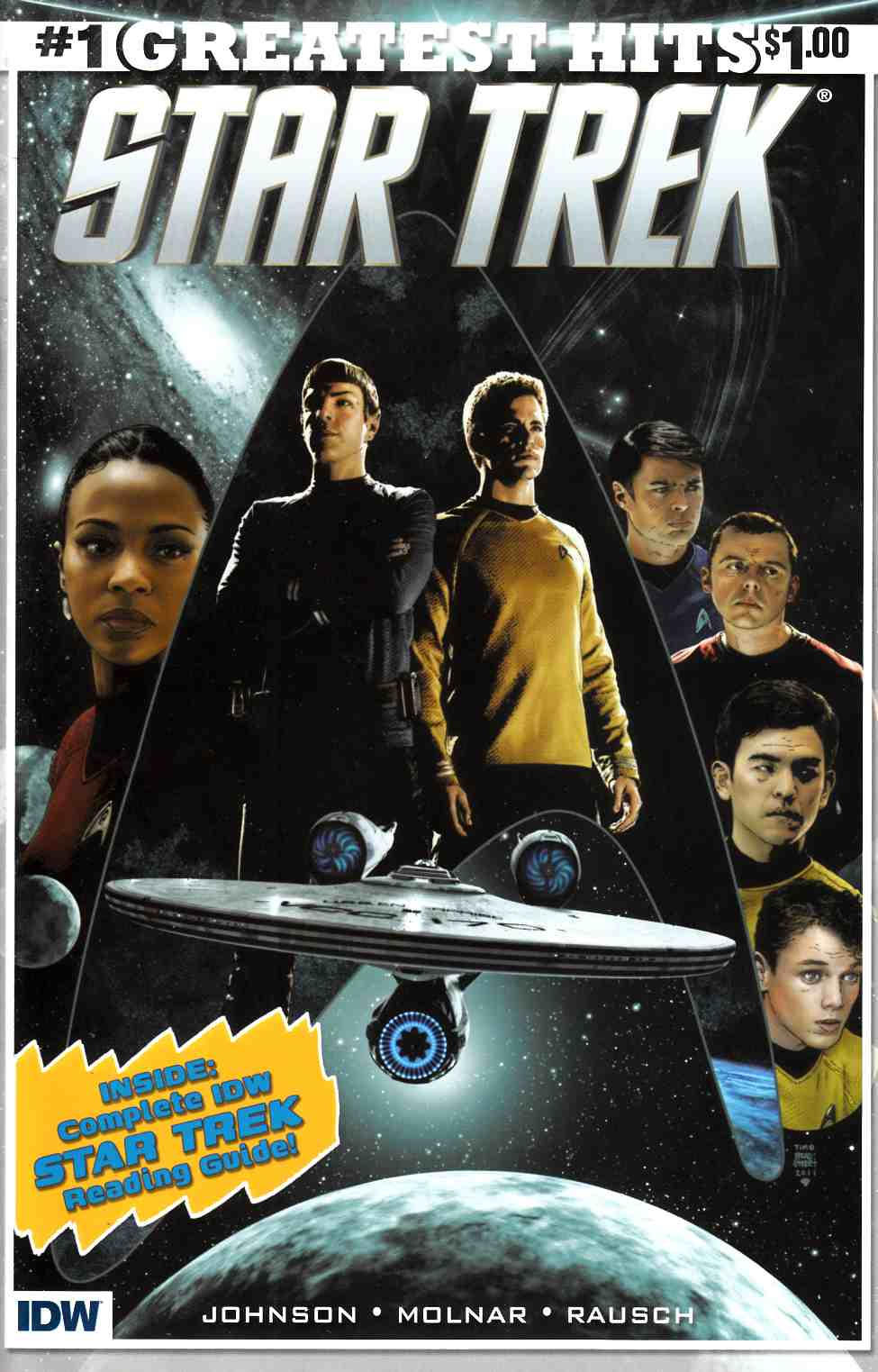 Star Trek #1 IDW Greatest Hits [IDW Comic] THUMBNAIL