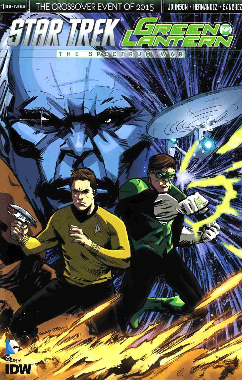 Star Trek Green Lantern #1 Cover D- Subscription [IDW Comic]