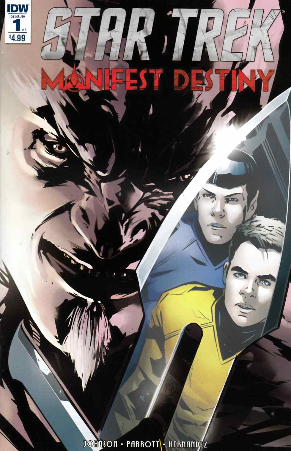 Star Trek Manifest Destiny #1 [IDW Comic] THUMBNAIL