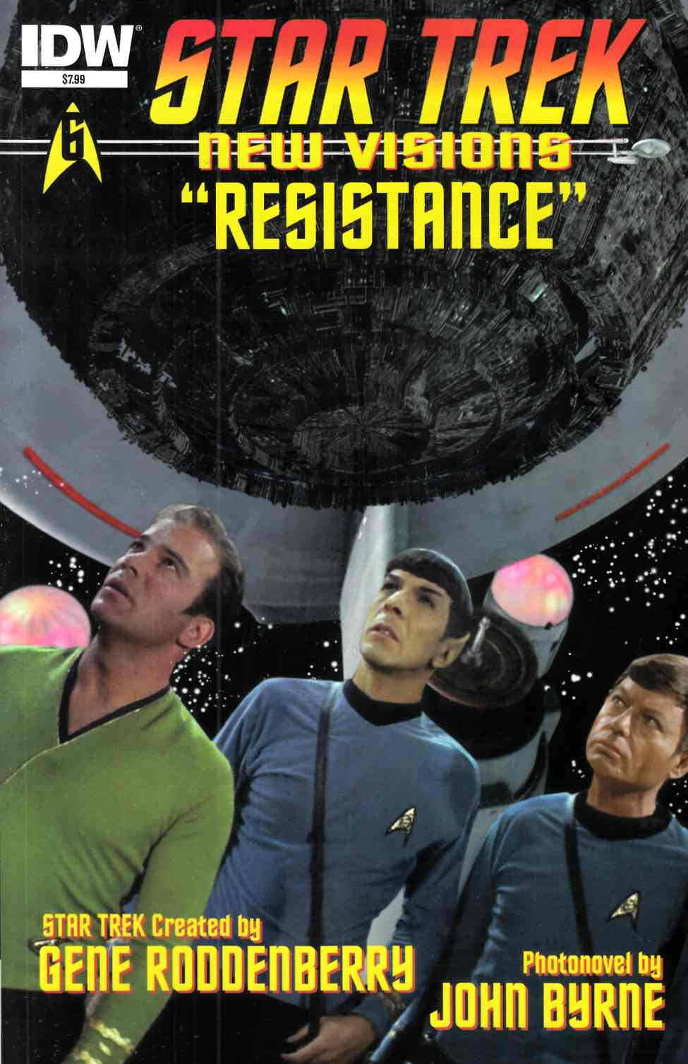 Star Trek New Visions Resistance (One Shot) [IDW Comic] THUMBNAIL