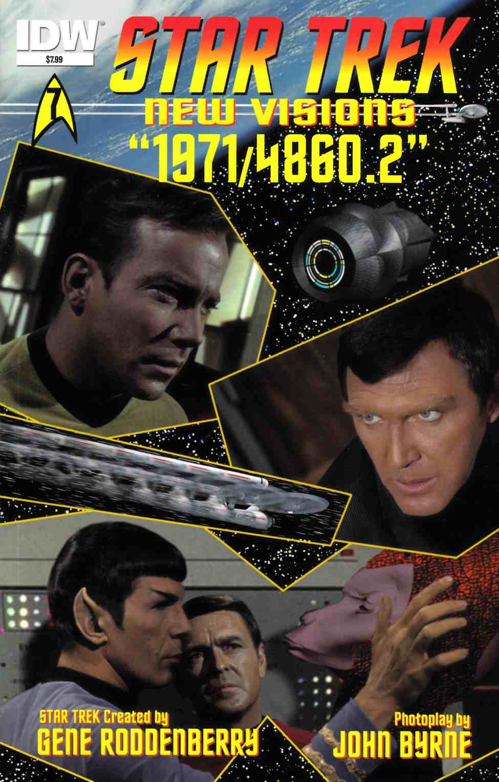 Star Trek New Visions 1971 48602 (One Shot) [IDW Comic] THUMBNAIL