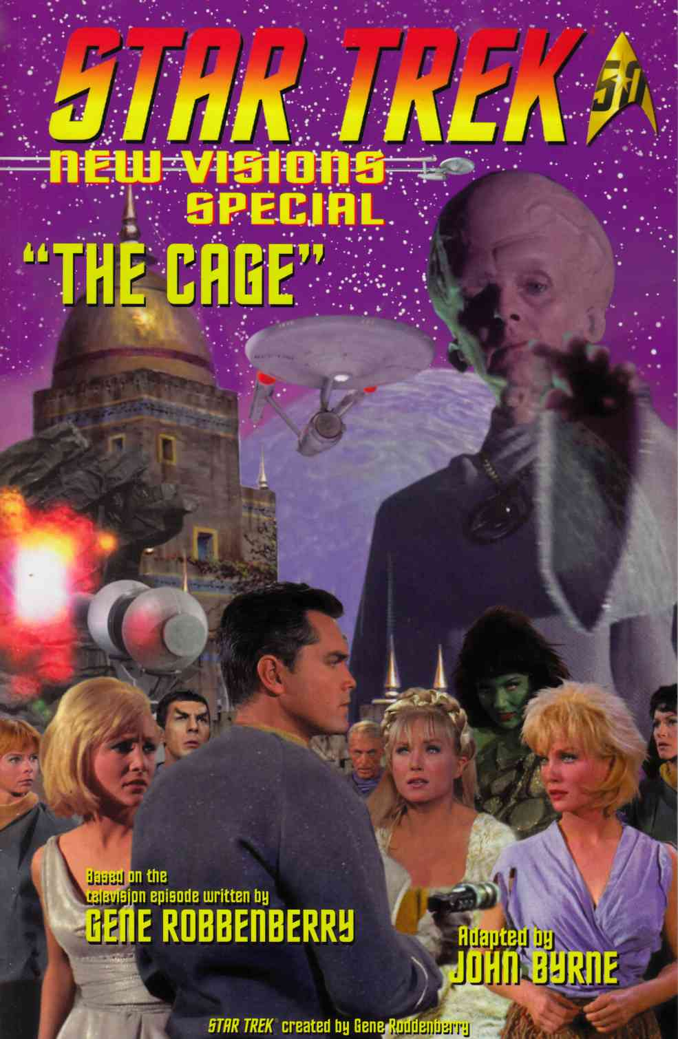 Star Trek New Visions Special The Cage [IDW Comic] THUMBNAIL