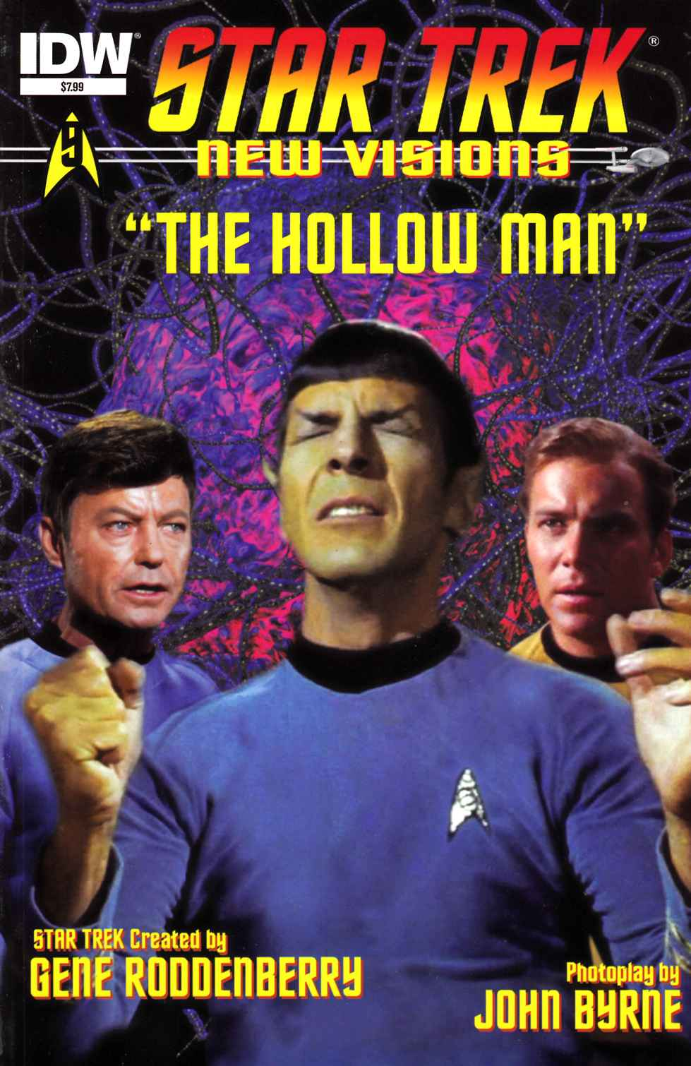 Star Trek New Visions Hollow Man [IDW Comic] THUMBNAIL