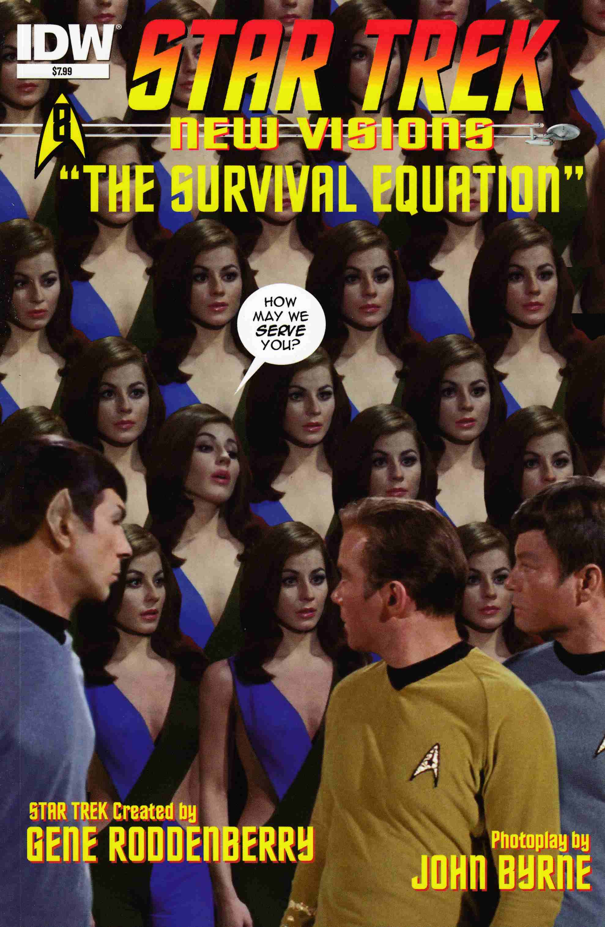 Star Trek New Visions Survival Equation (One Shot) [IDW Comic] THUMBNAIL