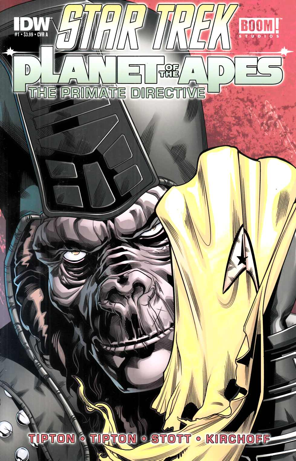 Star Trek Planet of the Apes #1 Cover A Near Mint (9.4) [IDW Comic]