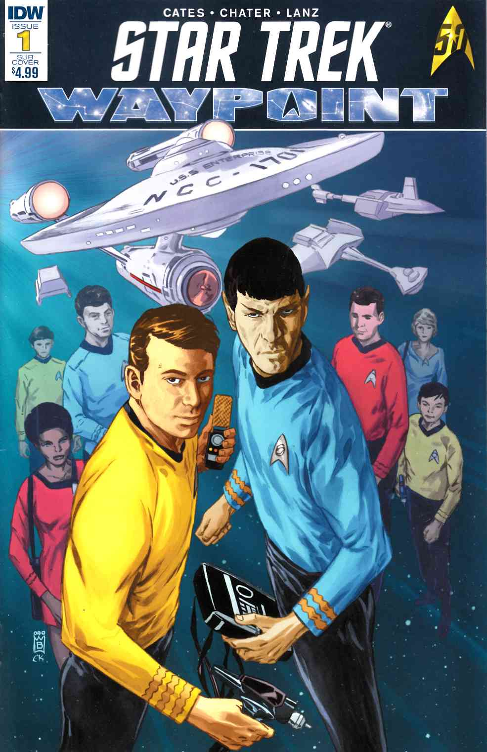 Star Trek Waypoint #1 Subscription Cover [IDW Comic]