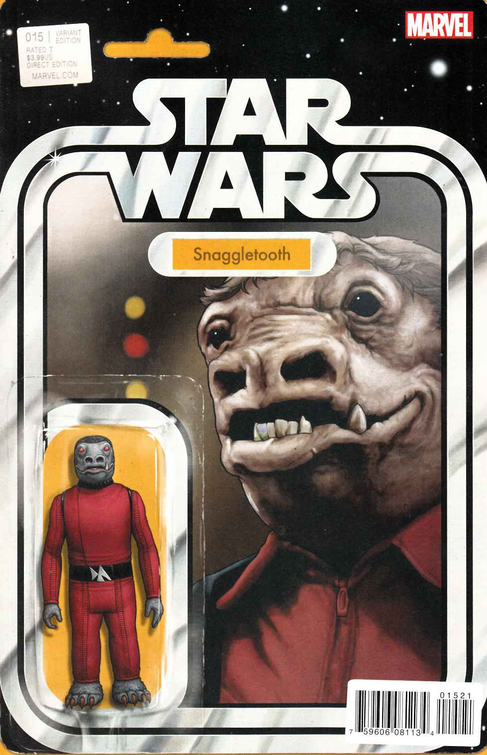 Star Wars #15 Christopher Action Figure Variant Cover [Marvel Comic]