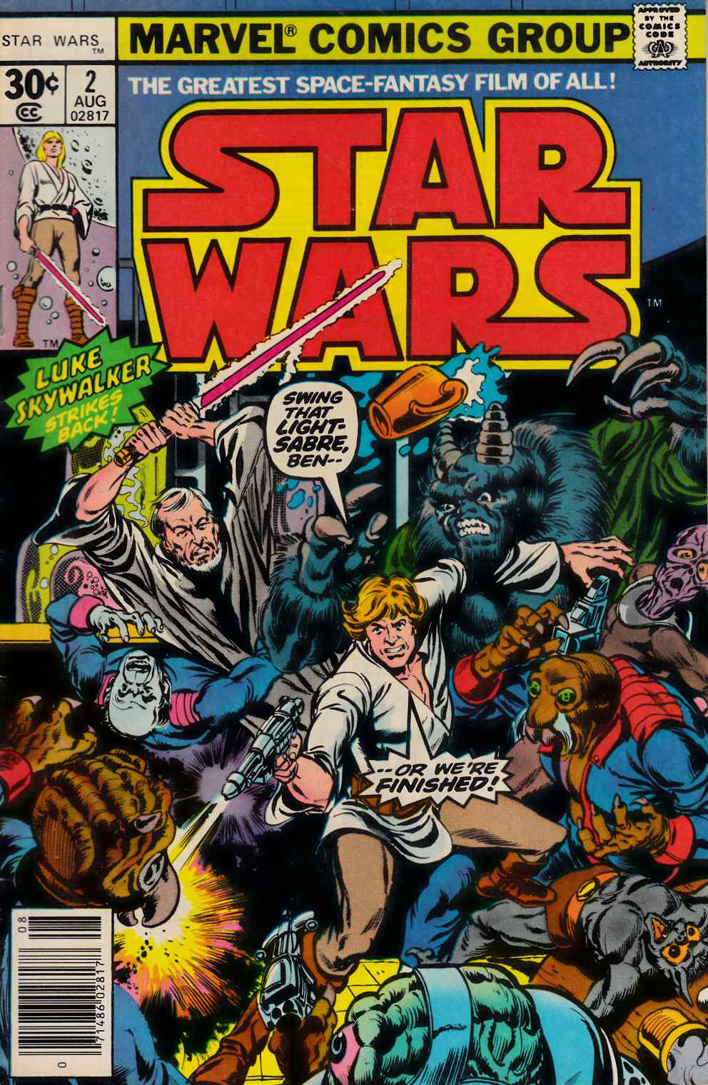 Star Wars #2 Very Good/Fine (5.0) [Marvel Comic] THUMBNAIL