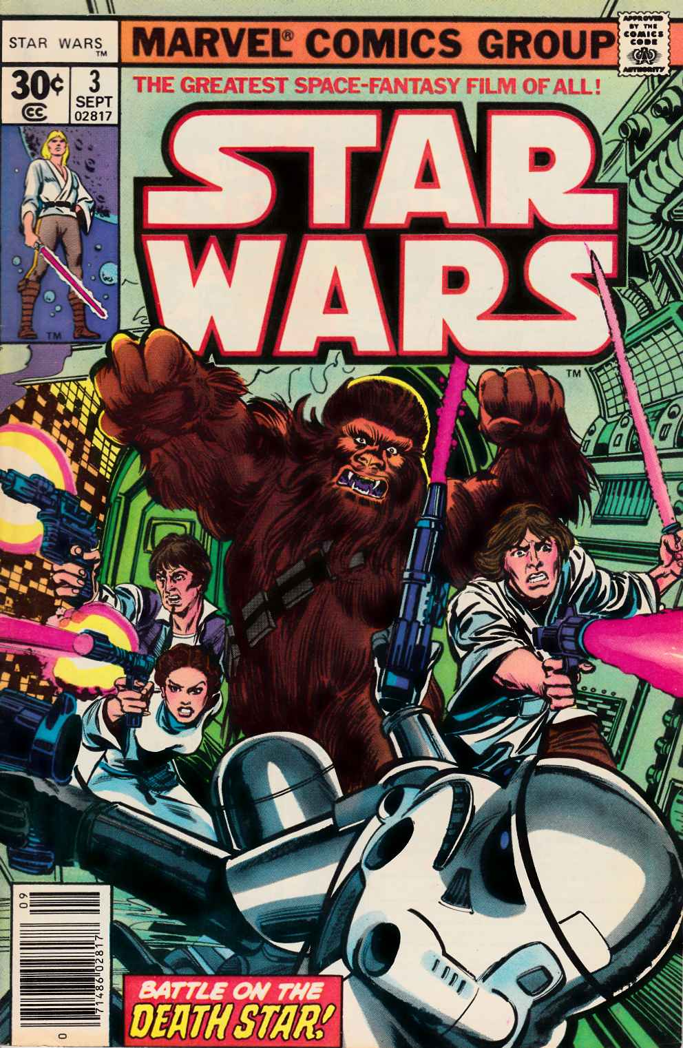 Star Wars #3 Very Fine (8.0) [Marvel Comic] THUMBNAIL