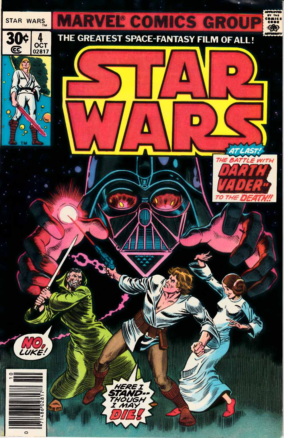 Star Wars #4 Fine (6.0) [Marvel Comic] THUMBNAIL