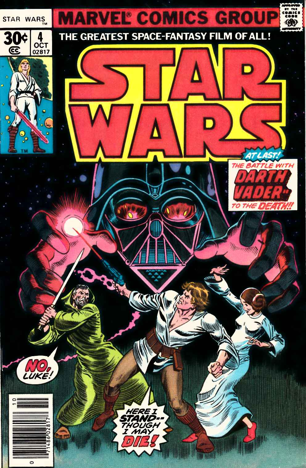 Star Wars #4 Fine/Very Fine (7.0) [Marvel Comic] THUMBNAIL