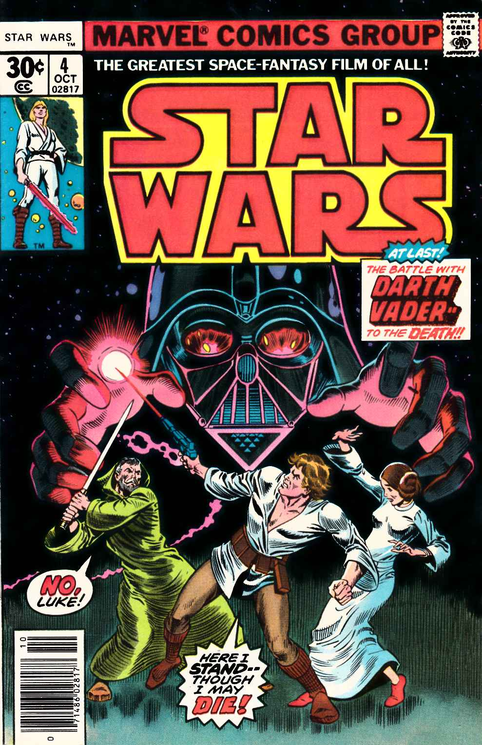 Star Wars #4 Very Fine Minus (7.5) [Marvel Comic] THUMBNAIL