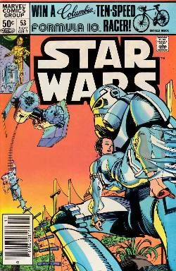 Star Wars #53 Newsstand Edition [Comic] LARGE