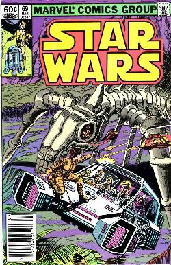 Star Wars #69 Newsstand Edition [Comic] LARGE