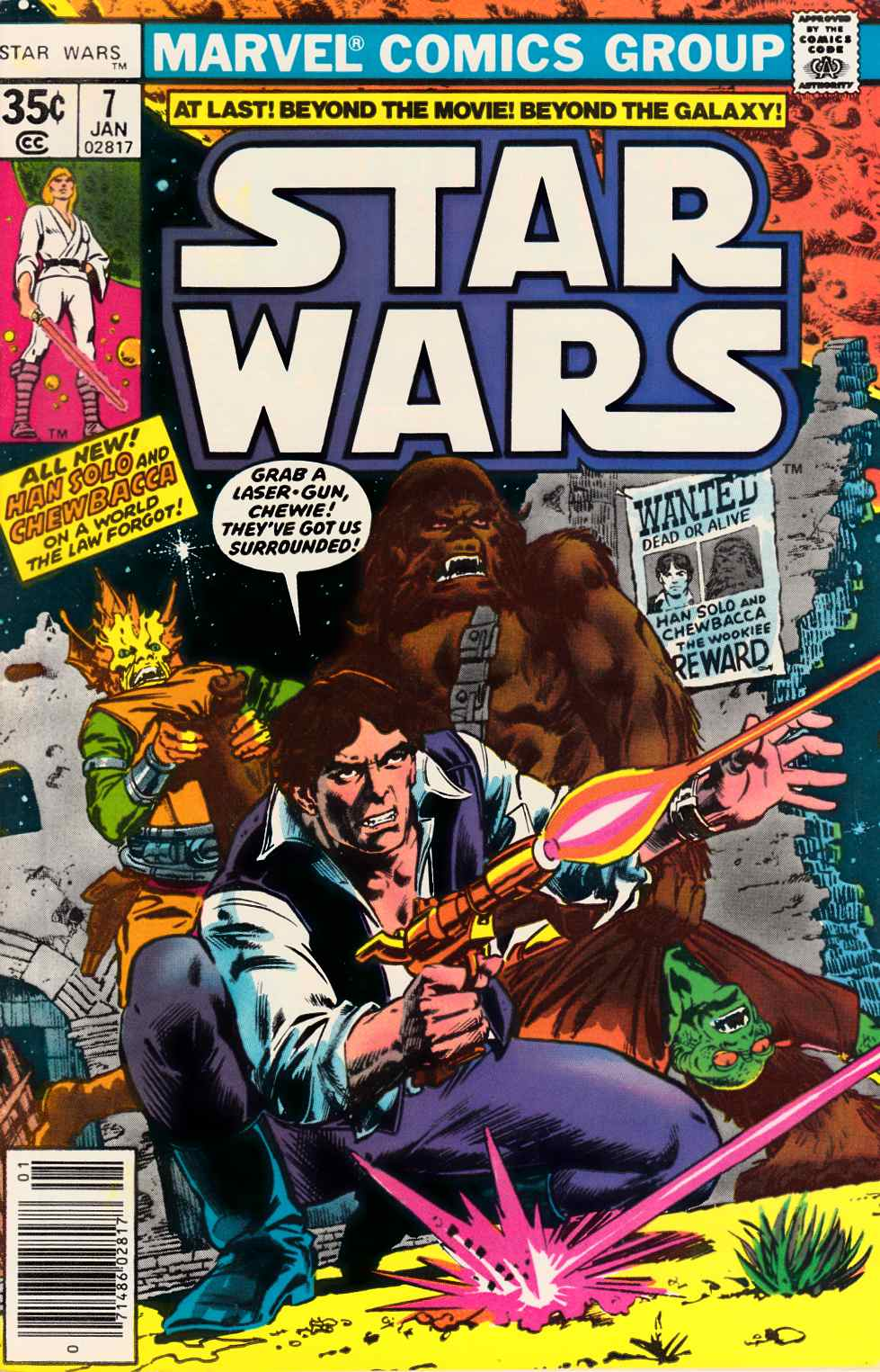 Star Wars #7 [Marvel Comic] THUMBNAIL
