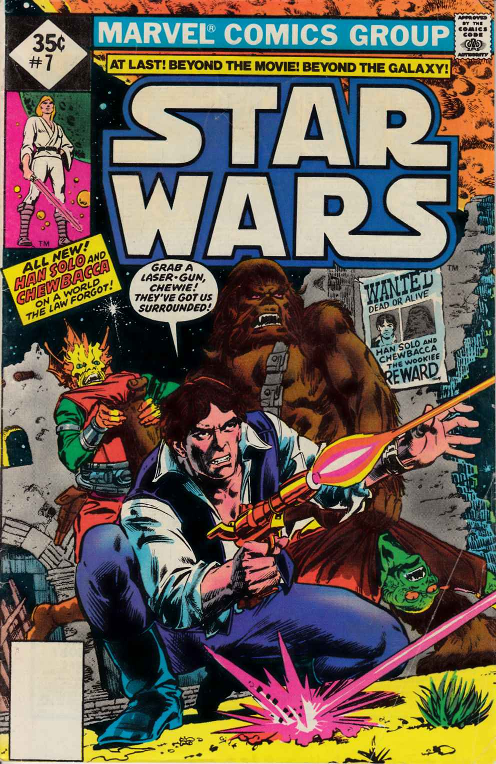 Star Wars #7 Whitman Edition [Marvel Comic] THUMBNAIL