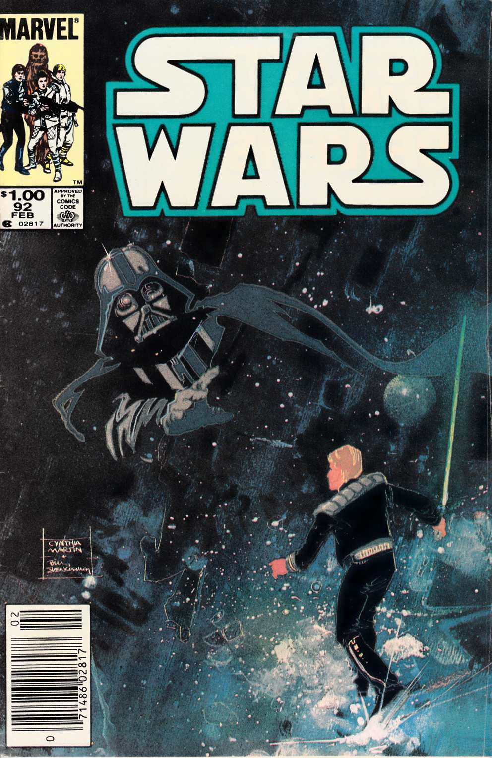Star Wars #92 Newsstand Edition [Comic] LARGE