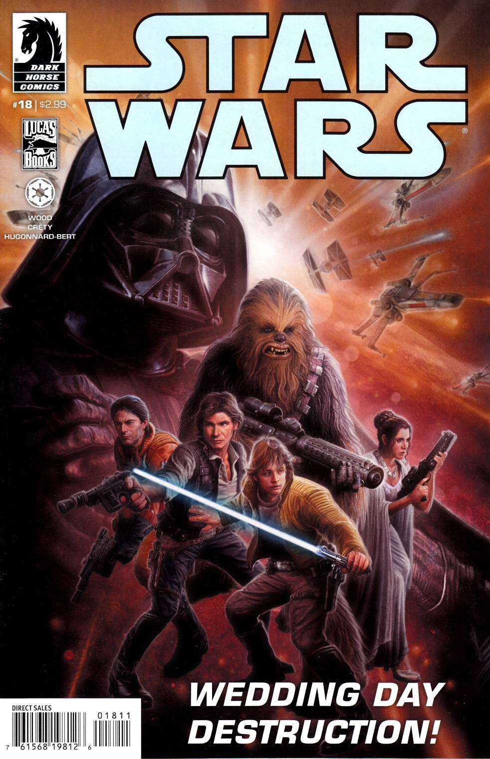 Star Wars #18 [Dark Horse Comic] LARGE