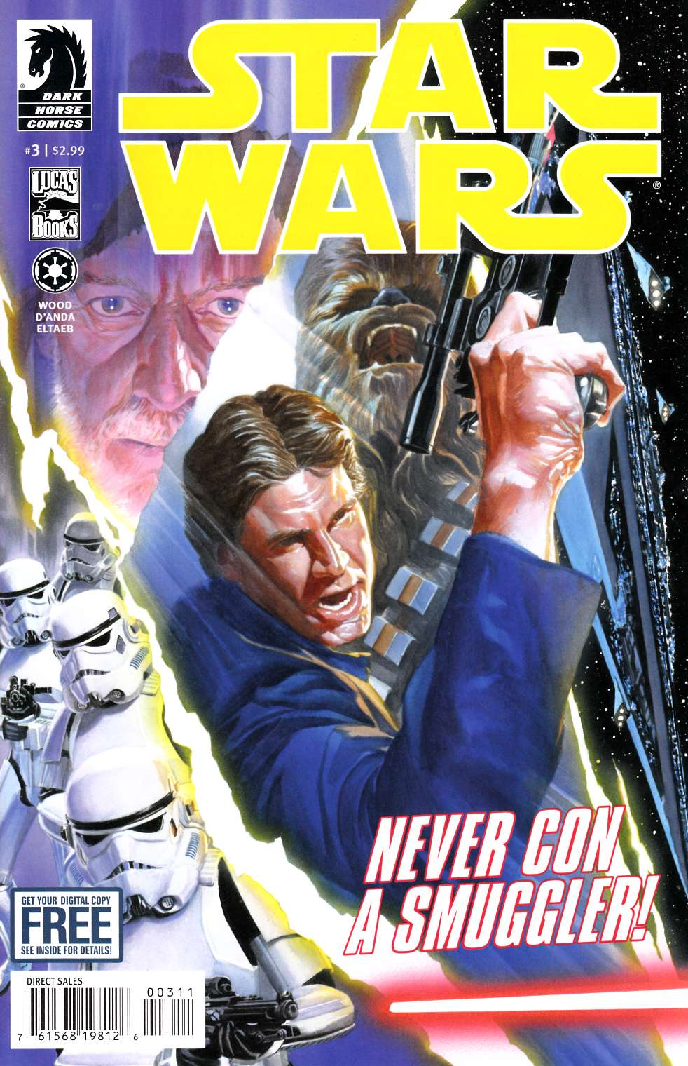 Star Wars #3 [Dark Horse Comic] THUMBNAIL