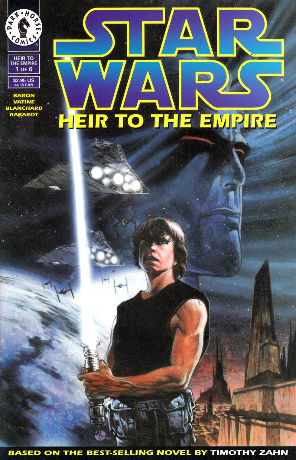 Star Wars Heir to the Empire #1 Near Mint Minus (9.2) [Dark Horse Comic] LARGE