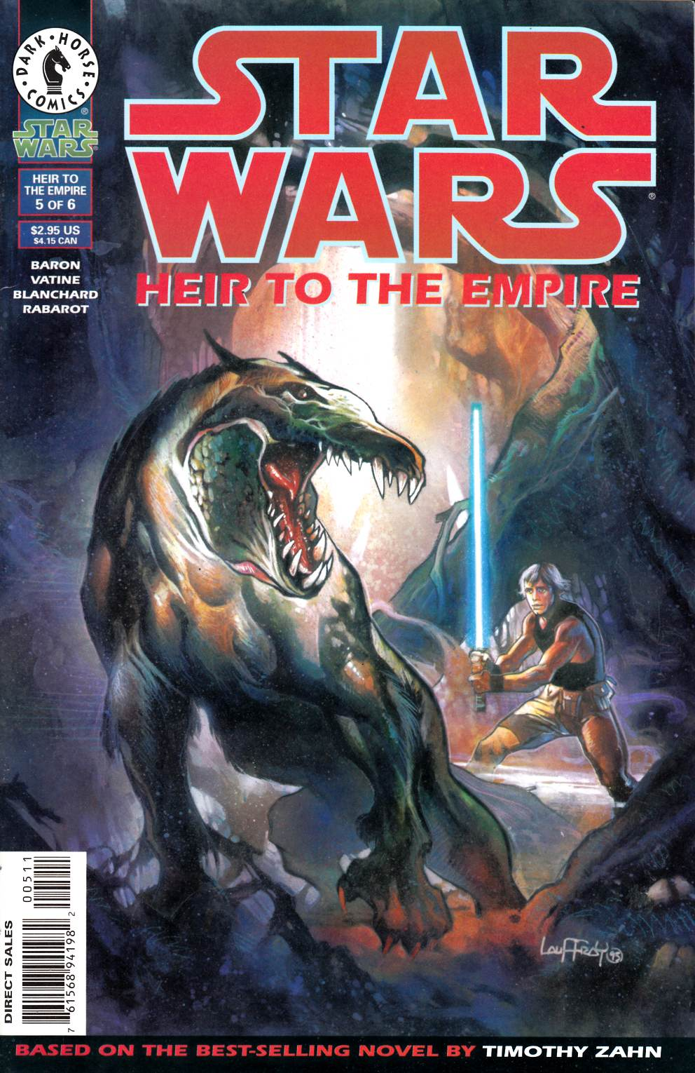 Star Wars Heir to the Empire #5 Very Fine (8.0) [Dark Horse Comic] THUMBNAIL