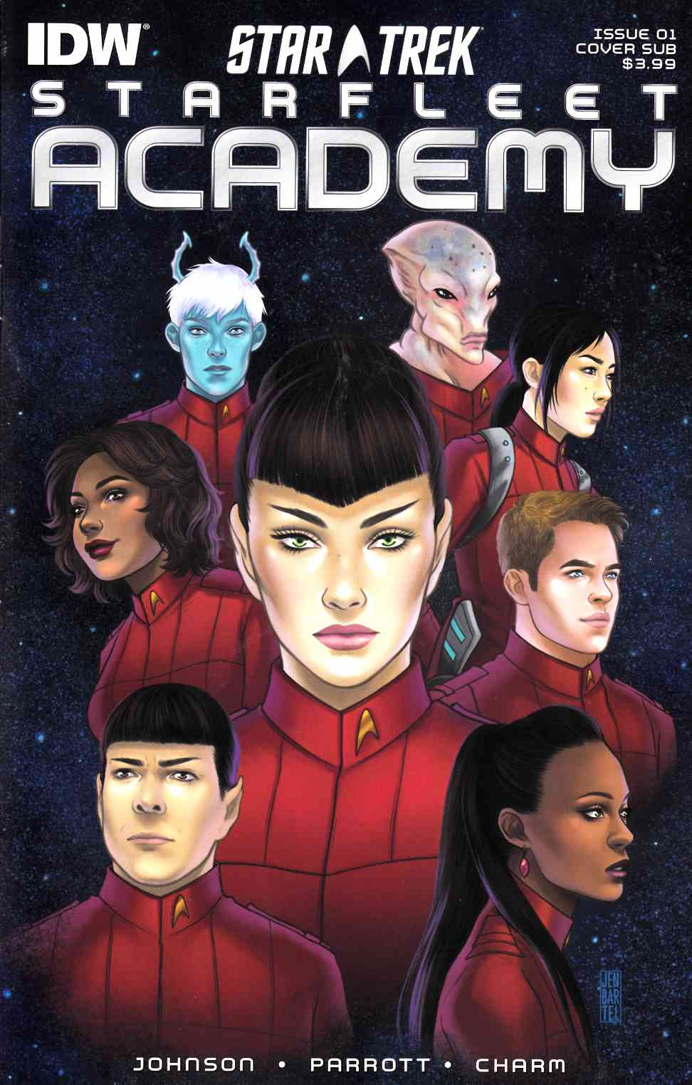 Star Trek Starfleet Academy #1 Subscription Cover [IDW Comic] THUMBNAIL