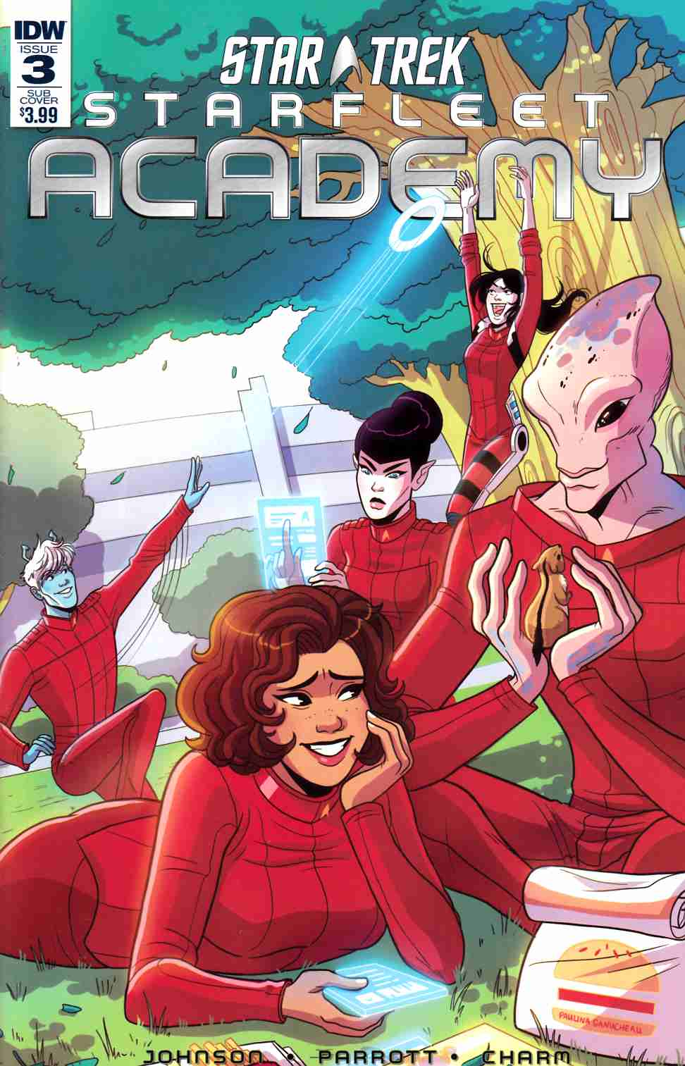 Star Trek Starfleet Academy #3 Subscription Cover [IDW Comic] THUMBNAIL