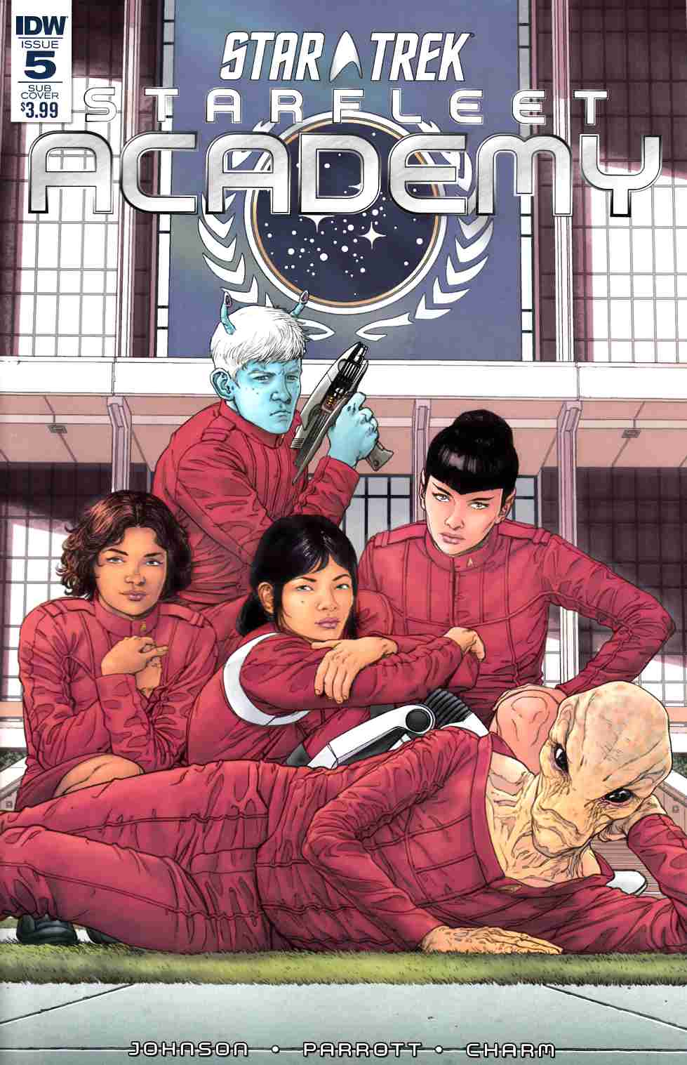 Star Trek Starfleet Academy #5 Subscription Cover [IDW Comic] THUMBNAIL