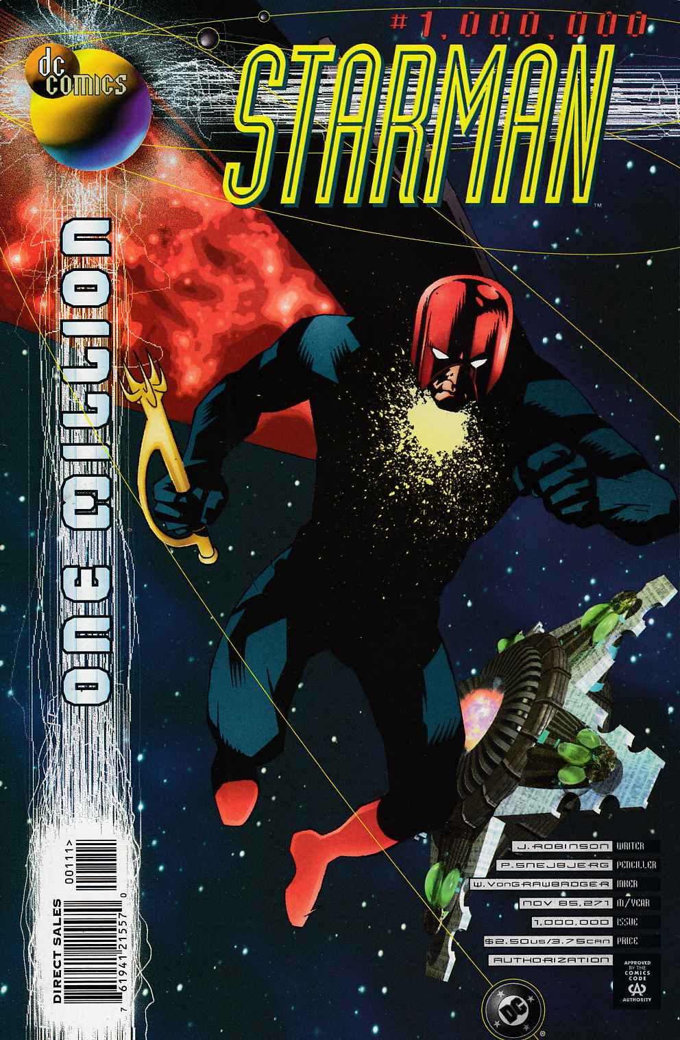Starman One Million Very Fine (8.0) [DC Comic] LARGE