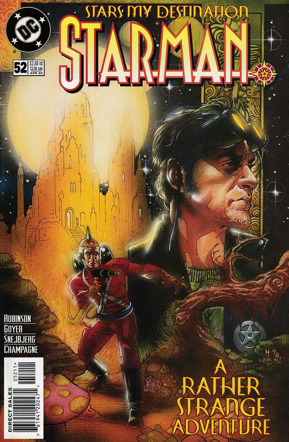 Starman #52 Near Mint (9.4) [DC Comic] LARGE