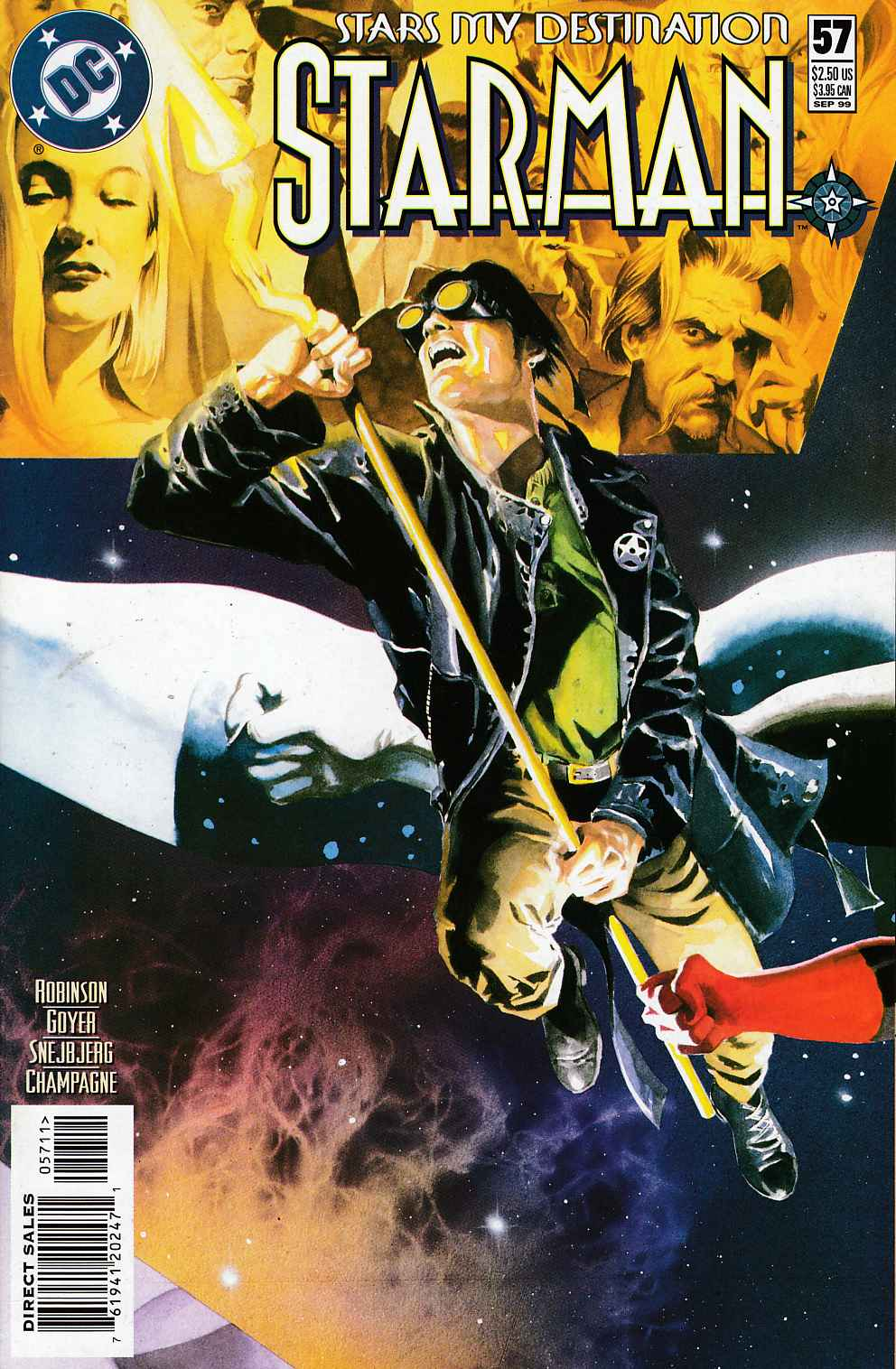 Starman #57 Near Mint (9.4) [DC Comic] LARGE
