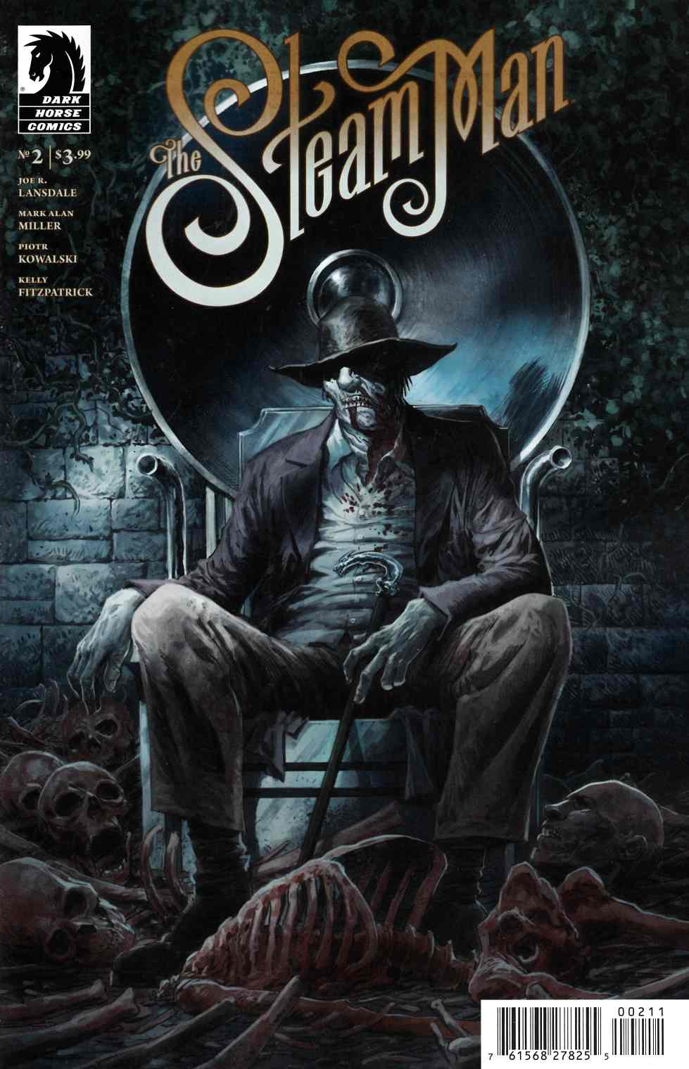 Steam Man #2 [Dark Horse Comic] THUMBNAIL