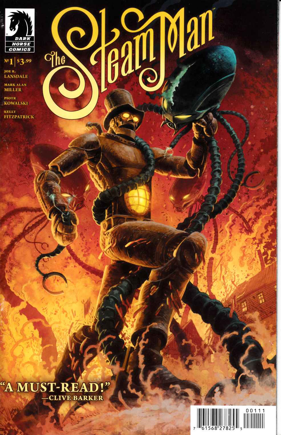 Steam Man #1 [Dark Horse Comic] THUMBNAIL