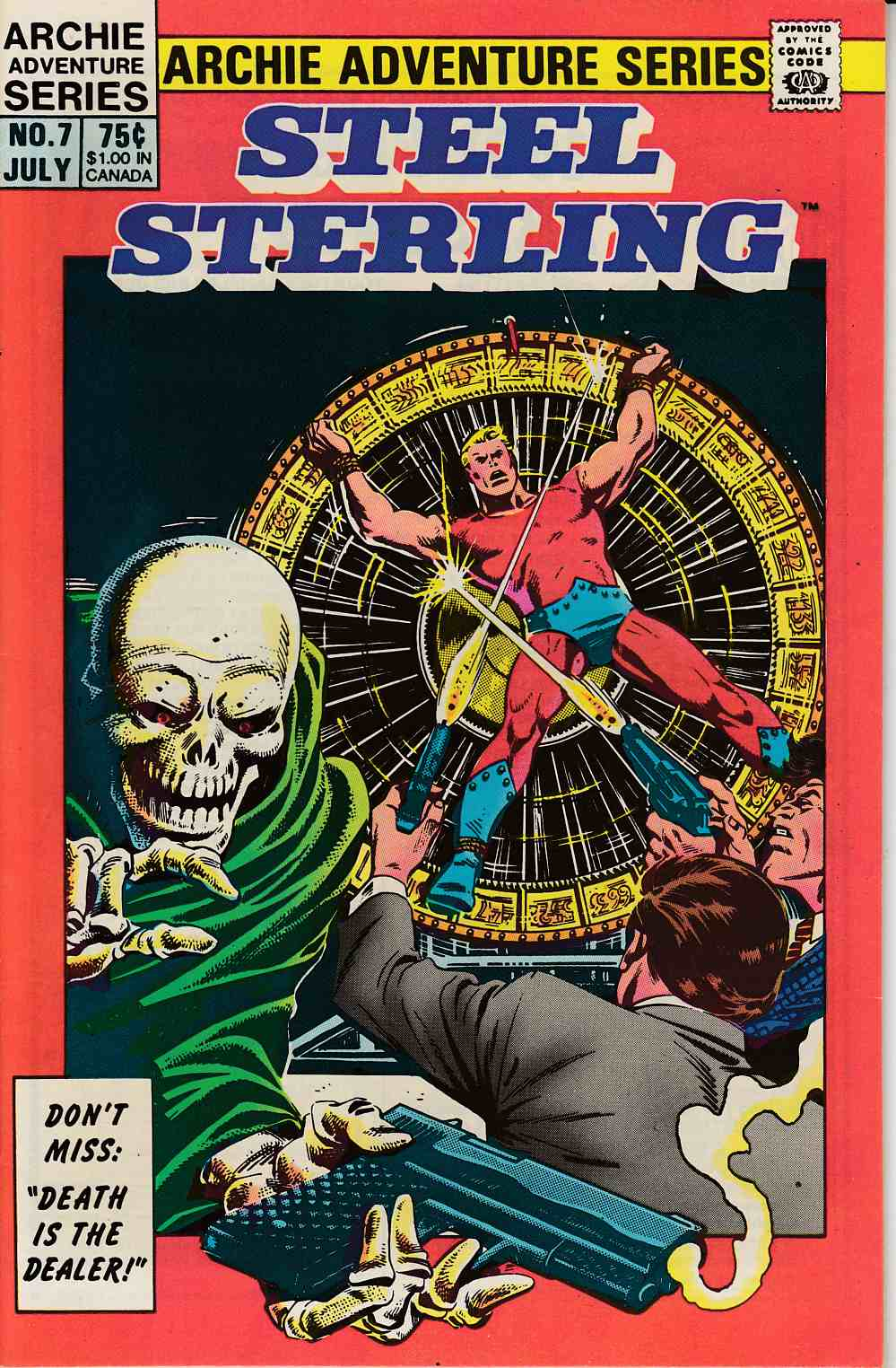 Steel Sterling #7 Near Mint (9.4) [Archie Comic] THUMBNAIL