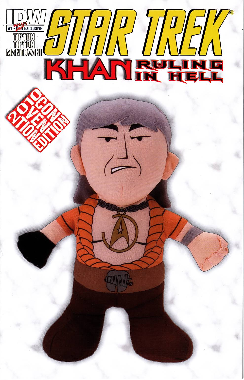 Star Trek Khan Ruling In Hell #1 2010 Convention Variant [IDW Comic] THUMBNAIL