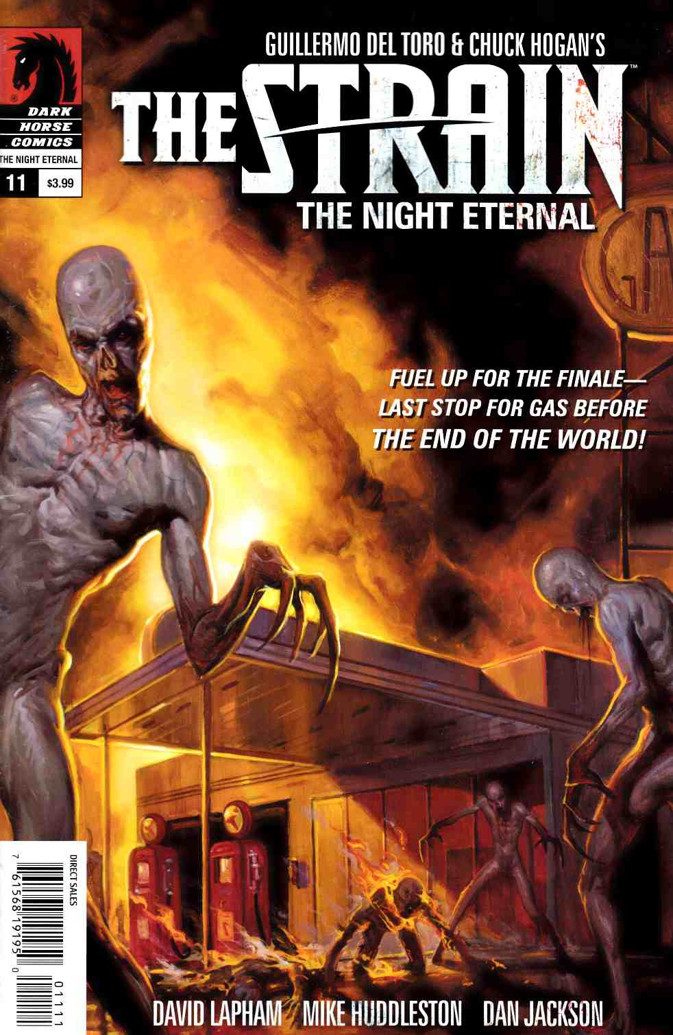 Strain Night Eternal #11 [Dark Horse Comic] THUMBNAIL