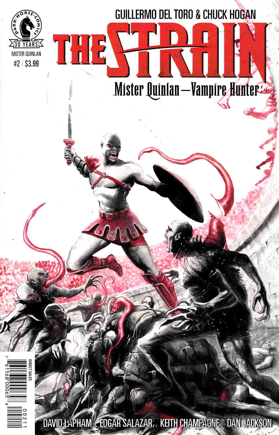 Strain Mr Quinlan Vampire Hunter #2 [Dark Horse Comic] LARGE