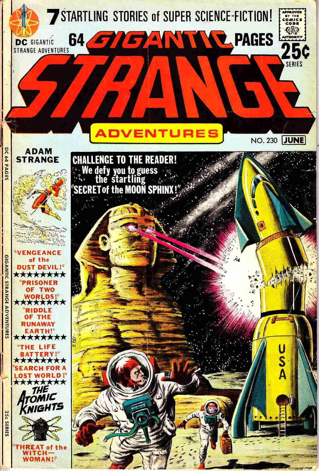 Strange Adventures #230 [DC Comic] LARGE