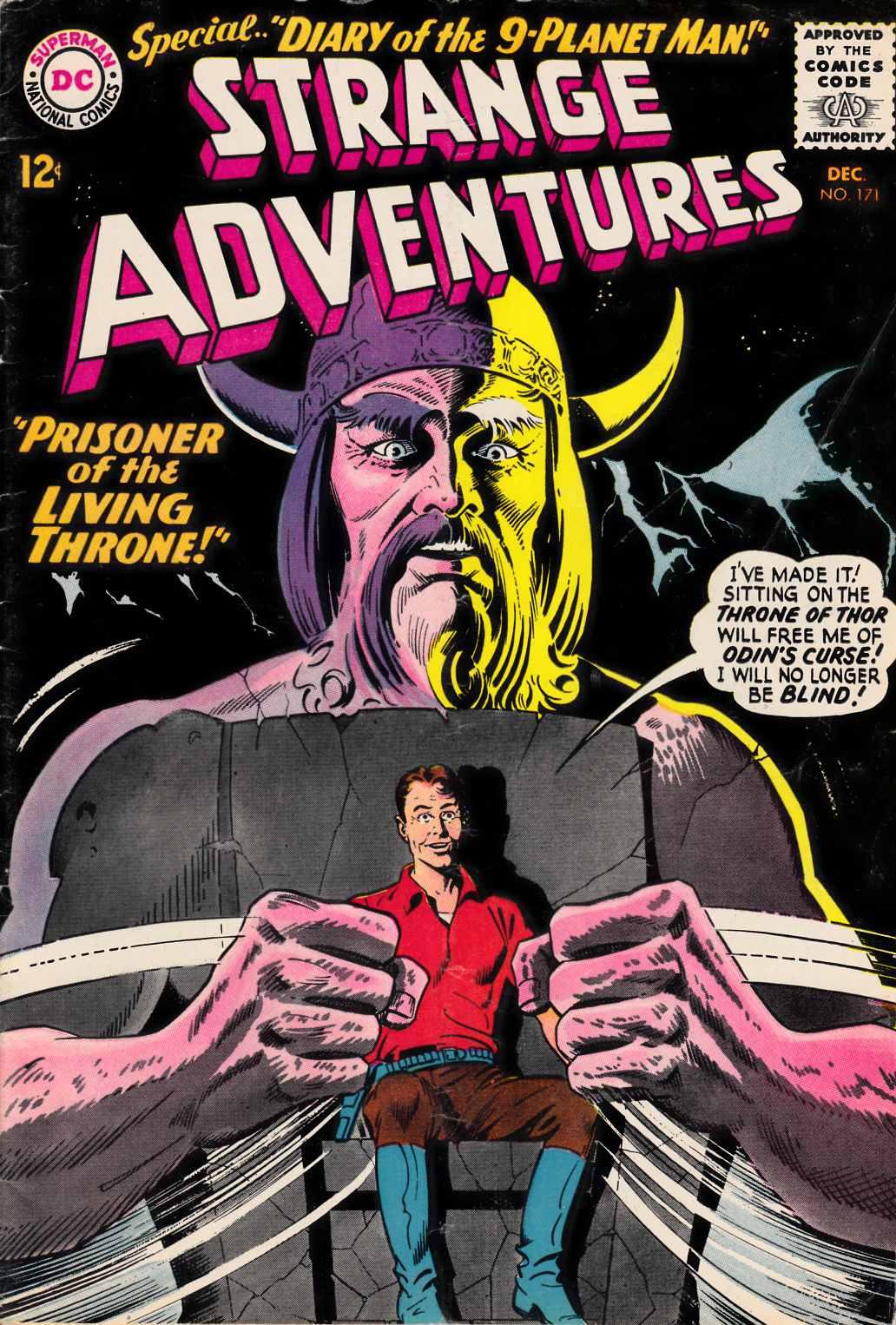 Strange Adventures #171 Good/Very Good (3.0)  [DC Comic] THUMBNAIL